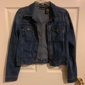 DKNY Medium Wash Jean Jacket